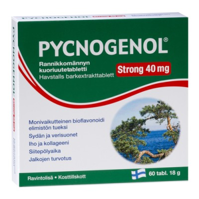 Pycnogenol Strong 40 mg 60 ταμπλέτες