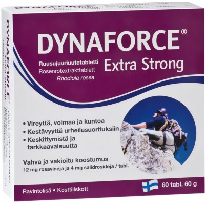 Dynaforce Extra Strong (Rhodiola rosea) 60 ταμπλέτες
