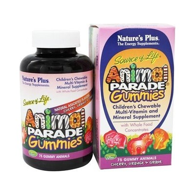 Animal Parade Gummies 75 gummies