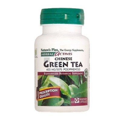 Green Tea (Chinese) (Camelia sinensis) 400mg 60 φυτικές κάψουλες