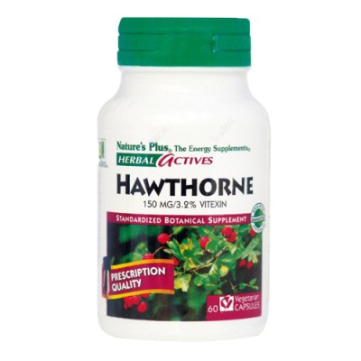 Hawthorne (English) (Crataegus laevigata) 150mg 60 φυτικές κάψουλες
