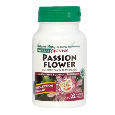 Passion Flower (Passioflora incarata)  250mg 60 φυτικές κάψουλες