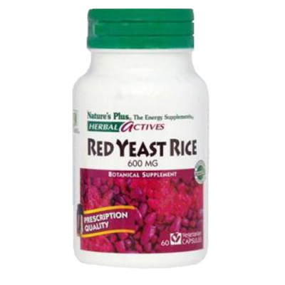 Red Yeast Rice (Monascus purpureus) 600mg 60 φυτικές κάψουλες