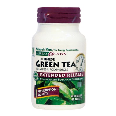 Green Tea (Chinese) (Camellia Sinensis) 750 mg 30 ταμπλέτες