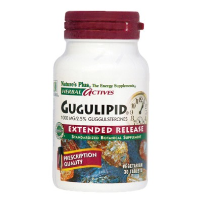 Gugulipid (Commiphora mukul) 1000 mg 30 ταμπλέτες