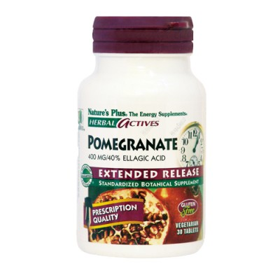 Pomegranate (Punica granatum) 400 mg 30 ταμπλέτες