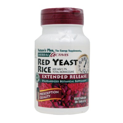 Red Yeast Rice (Monascus purpureus) 600mg 30 ταμπλέτες