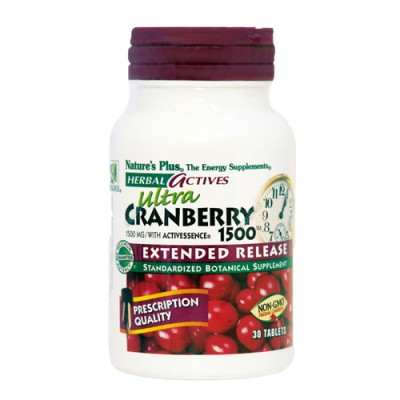 Ultra Cranberry (Vaccinium macrocarpon) 1500 mg 30 ταμπλέτες