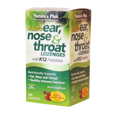 Ear,Nose & Throat Lozenges    60 παστίλιες